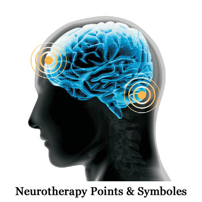 Neurotherapy Points & Symboles